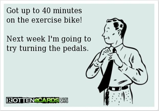 exercise-bike-funny-quotes