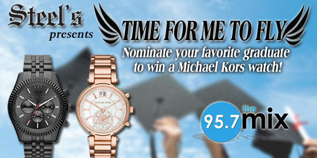 """Steel's """"Time For Me To Fly"""" MK Watch Giveaway"""