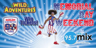 Win WA Tickets to See the Harlem Globetrotters!