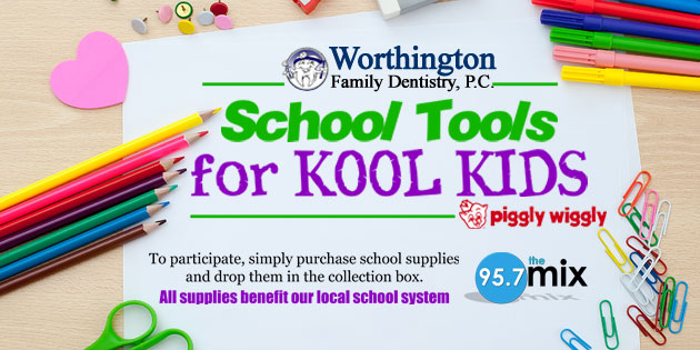 Worthington's School Tools for Kool Kids