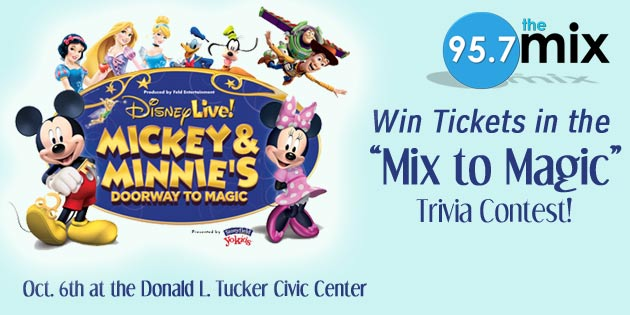 Mix to Magic: Disney Live Giveaway