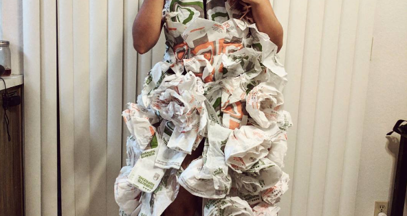 Taco Bell Wedding Dress