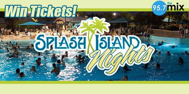 Win Splash Island Nights Tickets