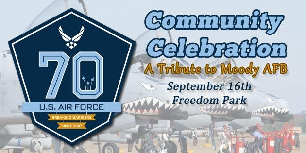 USAF 70th Birthday Community Celebration