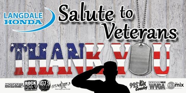 Langdale Honda's Salute to Veterans