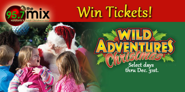 Wild Adventures Christmas Giveaway
