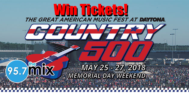 Win Country 500 Tickets