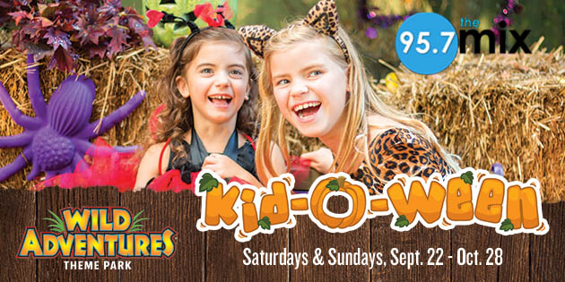 Win Tickets to Kid-O-Ween at Wild Adventures!
