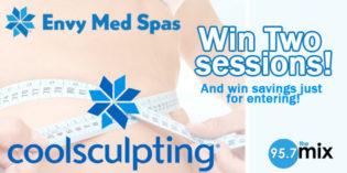 Envy Med Spas Cool Sculpting Giveaway