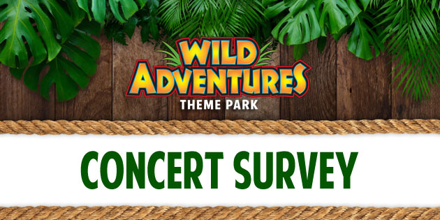 Wild Adventures Concert Survey
