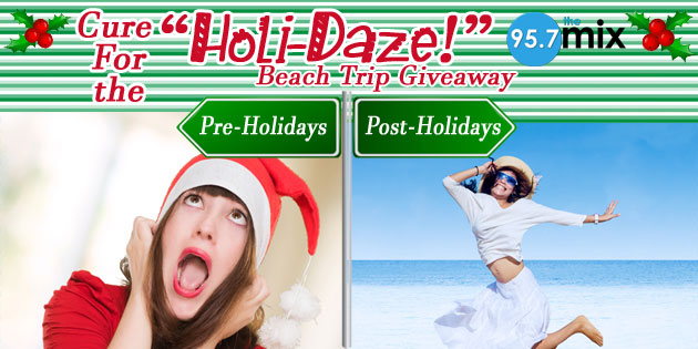 Cure for the Holi-Daze Beach Trip Giveaway
