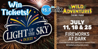 Light Up the Sky at Wild Adventures!