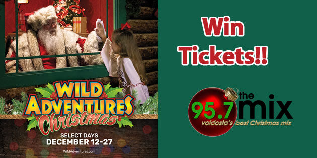 Win Tickets to Wild Adventures Christmas!